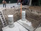 Szambo betonowe zbiorniki na deszczówkę szamba