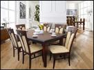 Krzesło stylowe do jadalni restauracji tapicerowane modne - 1