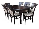 Krzesło do salonu jadalni tapicerowane nowoczesne eleganckie
