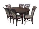 Krzesło stylowe do jadalni restauracji tapicerowane modne - 4