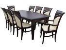 Krzesło stylowe do jadalni restauracji tapicerowane modne - 3
