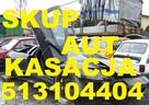 ✅Skup Aut Kościerzyna 513104404 Całe Pomorskie Kasacja aut