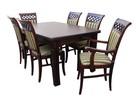 Krzesło nowe modne wygodne eleganckie tapicerowane