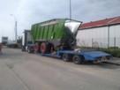 Transport specjalistyczny niskopodwoziowy ponadgabarytowy