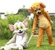 TOM i JERRY Chodząca żywa duża maskotka Kostium reklamowy - 2