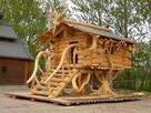 Ukraina. Produkcja domow z bali, montaz od 25 zl/m2, wiat