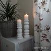 Dekoracje świeczniki toczone drewniane rękodzieło wyroby z d - 9