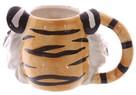 Tygrysi kubek, tiger, kubek w kształcie tygrysa - 2