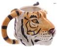 Tygrysi kubek, tiger, kubek w kształcie tygrysa - 3