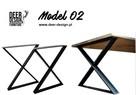 Nogi do stołu industrialnego loft stelaż stalowy Deer-Design - 3