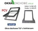 Okno dachowe aluminiowo-tworzywowe PCV