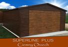 Garaż dach dwuspadowy, brama uchylna, w akrylu - 5