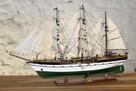 Drewniana Replika statku żaglowca Gorch Fock