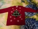 Sweterek świąteczny dziewczęcy - 2