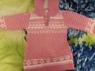 Sweterek dla dziewczynki różowy - 1