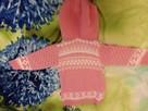 Sweterek dla dziewczynki różowy - 4