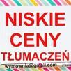 Tłumaczenia ONLINE - EN DE ES FR IT RU UKR Niskie ceny usług