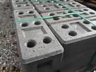 stopa do ogrodzenia podstawa do ogrodzeń kamień beton płot - 2