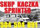 Skup Mercedesów Sprinter, Kaczka,124,190 504504891 Gdańsk - 2