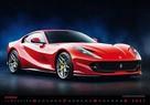 moto samochody sportowe sport cars kalendarz 2021 - 4