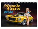 kobiety muscle cars sportowe bryki laski kalendarz 2021 - 12