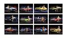 kobiety muscle cars sportowe bryki laski kalendarz 2021 - 2