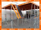 Szalunek szalunki stropowe panel alum. 90x90cm typu Topec.