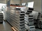 Zestaw najazdów alumioniowych, najazdy aluminiowe 3m 10 ton.