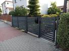ogrodzenie systemowe aluminiowe lub stalowe