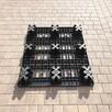 Palety plastikowe 120x100 cm, 9 stopek - 2
