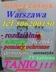 Elektryk-instalacje,rozdzielnie Warszawa