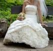 Jedwabna suknia od projektantki r.38, 500 PLN do negocjacji - 2