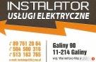 Usługi elektryczne INSTALATOR Bartoszyce