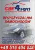 WYPOZYCZALNIA SAMOCHODOW CAR4RENT Rzeszów