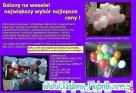 Skrzynia pełna balonów z helem na Twoje wesele! Głubczyce