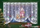 Firanka z Mikołajem na święta Tarnobrzeg