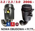 Kompletna Obudowa filtra paliwa Fiat Ducato Boxer Jumper 06- - 1