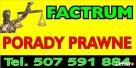 Factrum Porady Prawne tel. 507591884 Także online Halinów