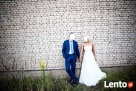 Przepiękna suknia ślubna z muślinu (stan idealny) Przysucha