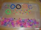 Różnokolorowe gumeczki do plecenia bransoletek 5 pln. - 1