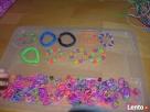 Różnokolorowe gumeczki do plecenia bransoletek 5 pln. - 3