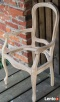 Krzesło z rafią rattanową - surowy stelaż - 4