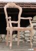 Krzesło włoskie - drewniany stelaż