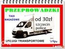 transport przeprowadzki noszenie już od 30zl trasa od 1zł km Szczecin