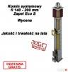 KOMIN SYSTEMOWY ZAPEL ⌀ 140-200mm DOSTAWA GRATIS CAŁA Lesko