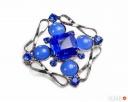 Modne broszki celebrytki łańcuszki bransoletki spinki klamry - 4