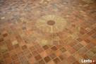PODŁOGA ze starej cegły BRUK cięta cegła rozbiórkowa