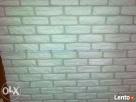 cegła biała z gipsu płytki gipsowe ceglane kamien gipsowy - 1