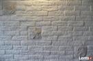 cegła biała z gipsu płytki dekoracyjne scienne biała  - 1