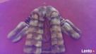 Ekskluzywne ręcznie wykonane futro z lisa. Słupca